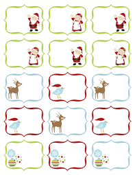 Christmas Tag Template Free Christmas Label Templates Happy Holidays