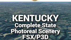 Megasceneryearth Kentucky Complete State Photoreal Scenery For Fsx P3d
