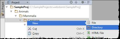 How To Create A Directory Creating Directories Help Phpstorm