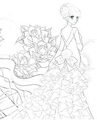 Anime Coloring Pages Chibi Page Cute Colouring Wiegraefeco