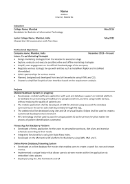 Gallery Of Extra Curricular Activities On Resume Samples Of Resumes