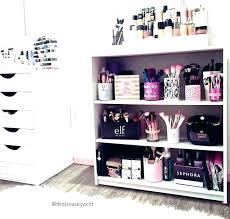 sorbus makeup storage organizer display case set desk for sto