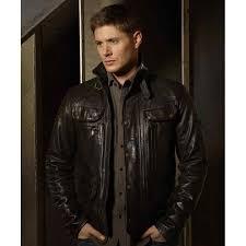 dean winchester supernatural jensen ackles leather jacket