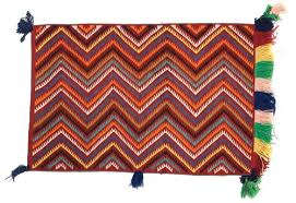 commercially produced yarn colored brightly using aniline dyes enabled navajo weavers to create what traders called