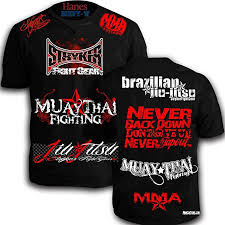 Tapout Clothing Size Chart Mmacustoms Stryker Signature Walk Out Shirt Never Tapout
