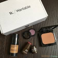wantable makeup october 2016 subscription box review