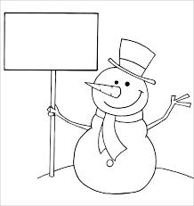 Snowman Template Printable Snowman Coloring Book Plus Snowman Coloring Book Cartoon Template