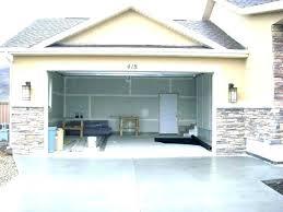 garage door opener light blinking wont close