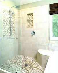 pebble tile shower floor pros and cons cleaning river stone explore pebb
