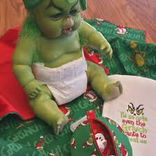 the grinch baby costume. Interesting The Grinch Baby Blanket Gift Set Infant Beanie Hat Burp U0026 Pacifier Pod For  Babyu0027s 1st Grinchmas And The Costume E
