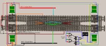 n peco code 55 double crossover wiring diagram
