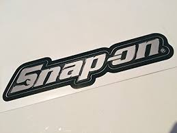 snap on tools logo. snap on tools chrome logo decal sticker h