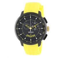 mens watch versus versace manhattan sgv04 chrono silicone yellow mens watch versus versace manhattan sgv04 chrono silicone yellow black