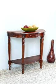 hall table furniture. White Half Moon Table Grand Hand Carved Console Reviews End Coffee Hall Furniture E