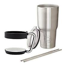 Coffee tumbler handle available in the finest materials and distinctive styles. Stainless Steel Tumbler With Handle 2 Stainless Steel Straws 30 Oz Tumbler Coffee Cup Tra Insulated Coffee Mugs Tumbler Coffee Cups Stainless Steel Straws