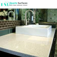 iced white quartz slabs for kitchen countertop