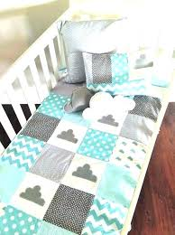 cloud crib bedding set baby quilt measurements sets target little print patch bedd cloud crib bedding