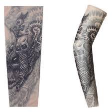 Etbotu Tattoo Pattern Sun Screen Sleevestylish Leg Sleeve For Outdoor Activitiesfree Sizerandom Style
