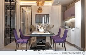 dining room color schemes. Purple Elegance Dining Room Color Schemes