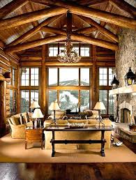 Log Cabin Living Room Concept Best Inspiration Ideas