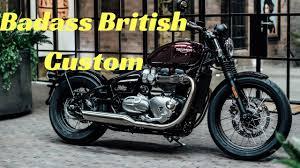 2017 triumph bonneville bobber the badass british custom cruiser