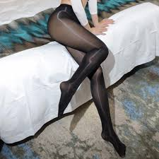 Some pantyhose fetish material