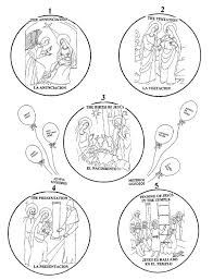 Small Picture 10 best Rosary Activity images on Pinterest Rosaries Coloring