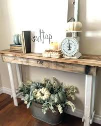 skinny entryway table. Modern Foyer Table Small Entryway Ideas Farmhouse Decor Style Wallpaper Decorating Front Entry Tables Skinny