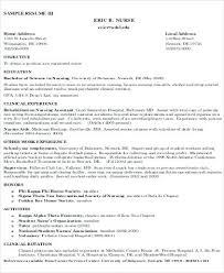 Professional Objective For Nursing Resume objective for nursing resume luxsosme 79