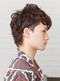 ツーブロックワイルドパーマメンズ髪型 Lipps 原宿mens