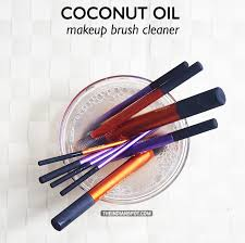 how to clean makeup brushes with coconut oil. coconut oil makeup brush cleaner how to clean makeup brushes with coconut oil o