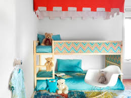 Kids loft bed ikea Youth Kura Bed With Canopy And Rich Colors Eddrverssclub Kidfriendly Diys Featuring The Ikea Kura Bed