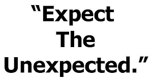 Unexpected Quotes Extraordinary Expect The Unexpected Quote Collection Of Inspiring Quotes