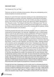 tempest essay year hsc english advanced thinkswap tempest essay