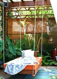 round hanging bed outdoor hanging storage bed bath and beyond