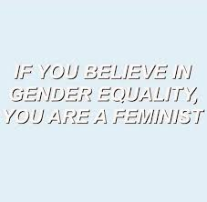 Gender Equality Quotes If you believe in gender equality you are a feminist That's how 55