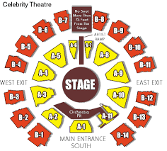 Celebrity Theater Seating