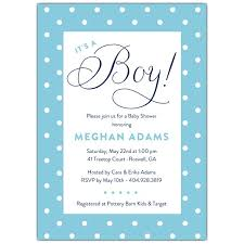 Polka Dot Invitations Polka Dot Frame Boy Color Choice Baby Shower Invitations