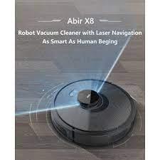 Đánh giá Robot hút bụi lau nhà Abir X8 - Robot làm sạch hiệu quả