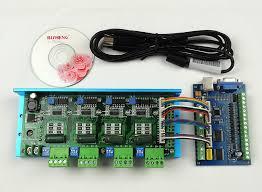 4 axis 100khz cnc mach3 usb card smooth stepper motor