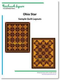 Ohio Star - Free Quilt Block Pattern - Patchwork Square & Similar Quilt Blocks ~ Evening Star Adamdwight.com