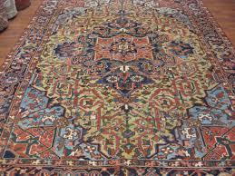 antique heriz rug 4016 antique persian heriz from northwest persia size 7