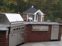 Outdoor Kitchen Gas Grill Preferred Properties Landscaping Masonry Outdoor Living