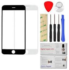 iphone kit. iphone 6 glass lens screen replacement + tool kit black or white-digital supply usa iphone kit
