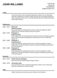 A Perfect Resume How To Make A Resume Template