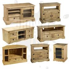 Corona Tv Stand Living Room Furniture Solid Wood Mexican Pine Of ...