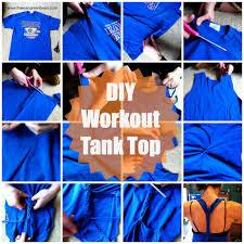 diy workout tank top