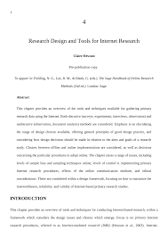 Sampling Design Example In Thesis Pdf Research Design And Tools For Internet Research