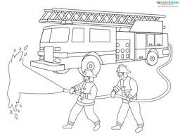 Free Fire Truck Coloring Pages Printable Printable Jokingartcom