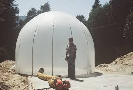 Inflatable Concrete Lloyd Turner Airform Stucco Construction